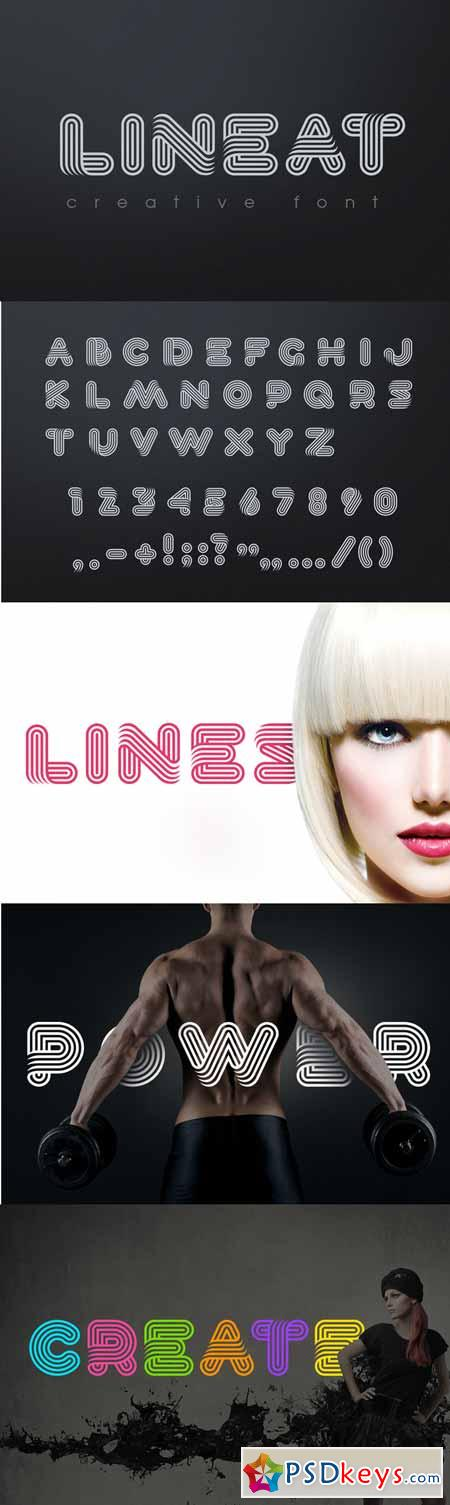 Lineat font 560203