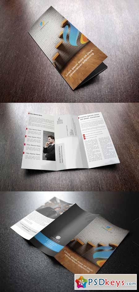 Corpo Tri Fold Brochure Template 591304