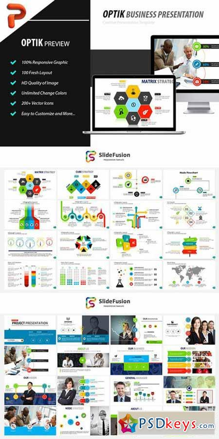 OPTIK - Powerpoint Template 595182