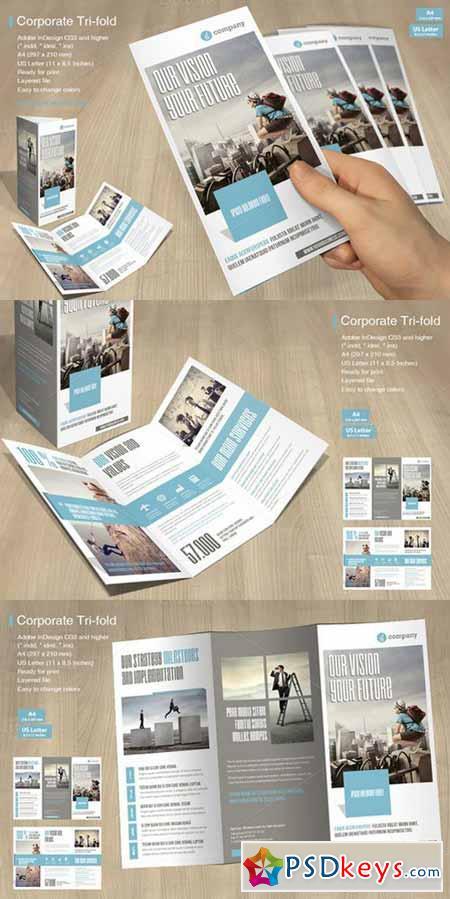 Tri-fold Corporate Vol. 4 592306