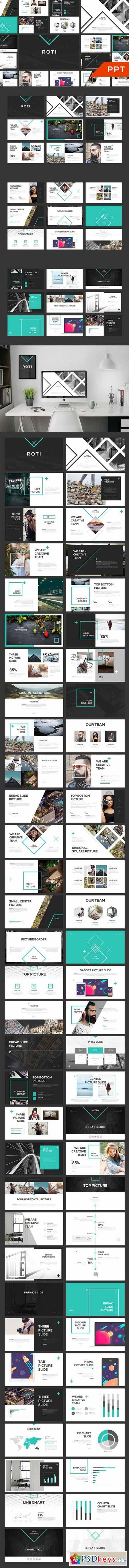 ROTI PowerPoint Template 581732
