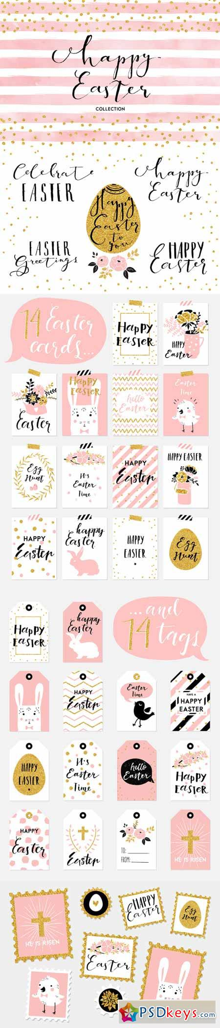 Happy Easter collection 589320