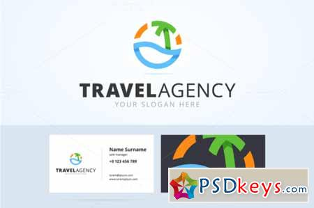 Travel logo and business card 586782