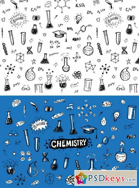 Chemistry set+pattern 595594