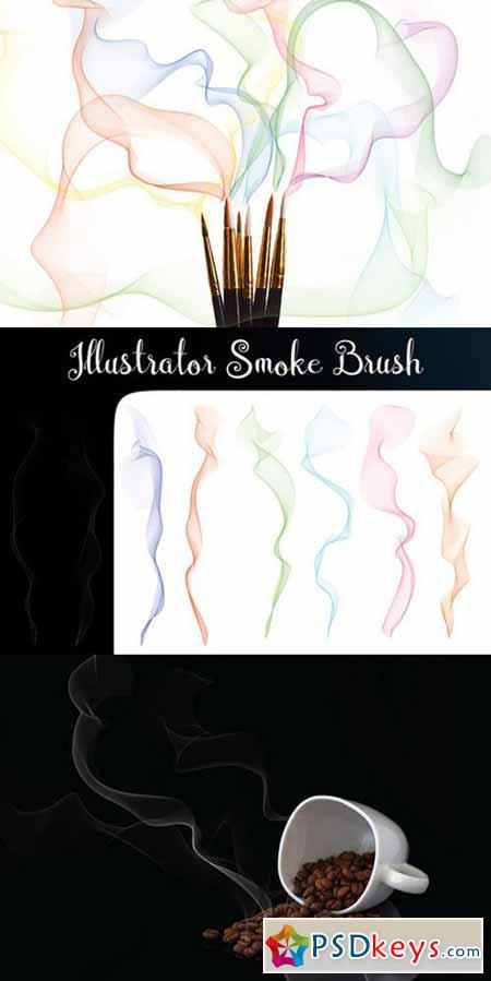 Illustrator Smoke Brush 620419 » Free Download Photoshop