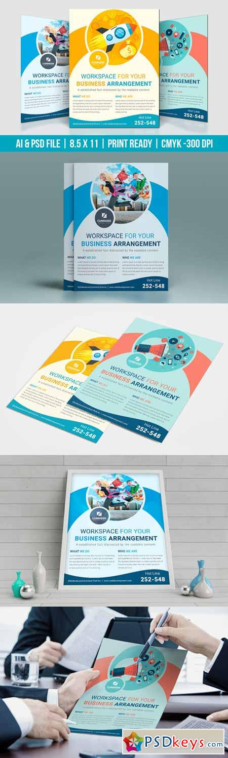 Digital Marketing Flyer   Free Download Photoshop Vector