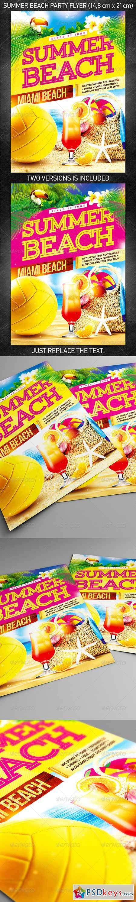 party page 87 photoshop vector stock image via summer beach party flyer template 11538625
