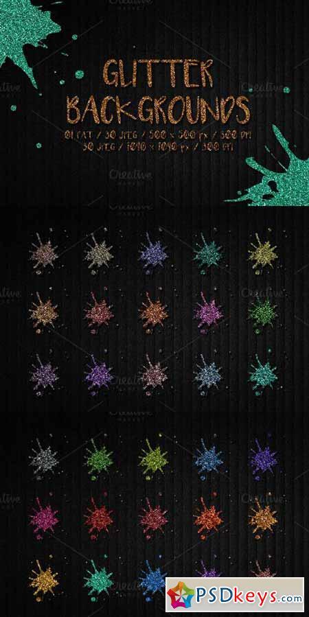 30 Glitter Patterns 621237