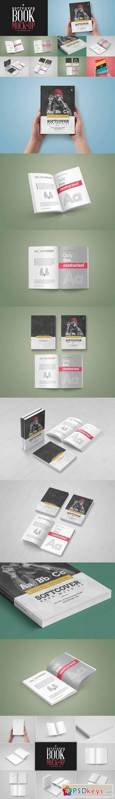 Book Mock-Up Softcover Edition 622354