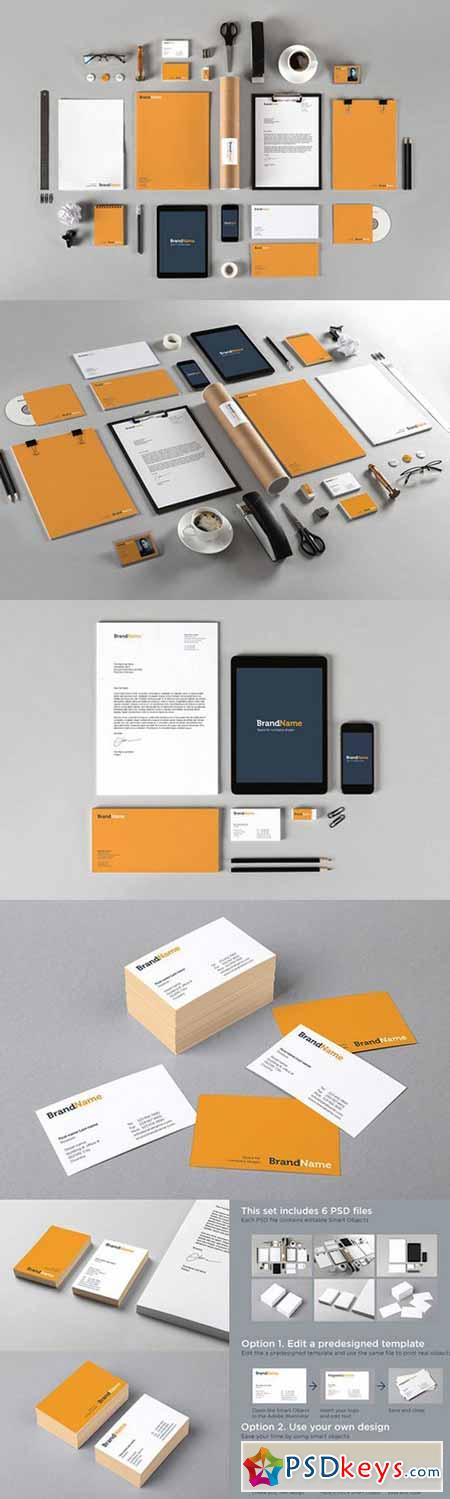 Branding identity MockUps + Template 626846
