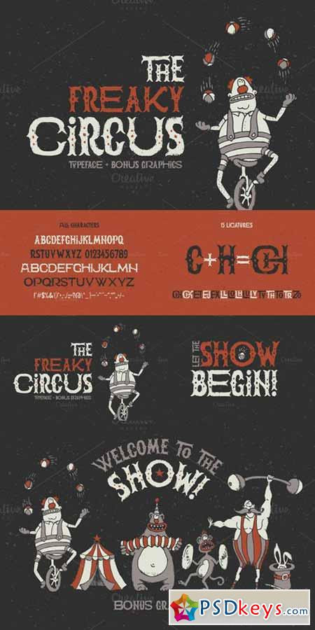 The Freaky Circus font 623302