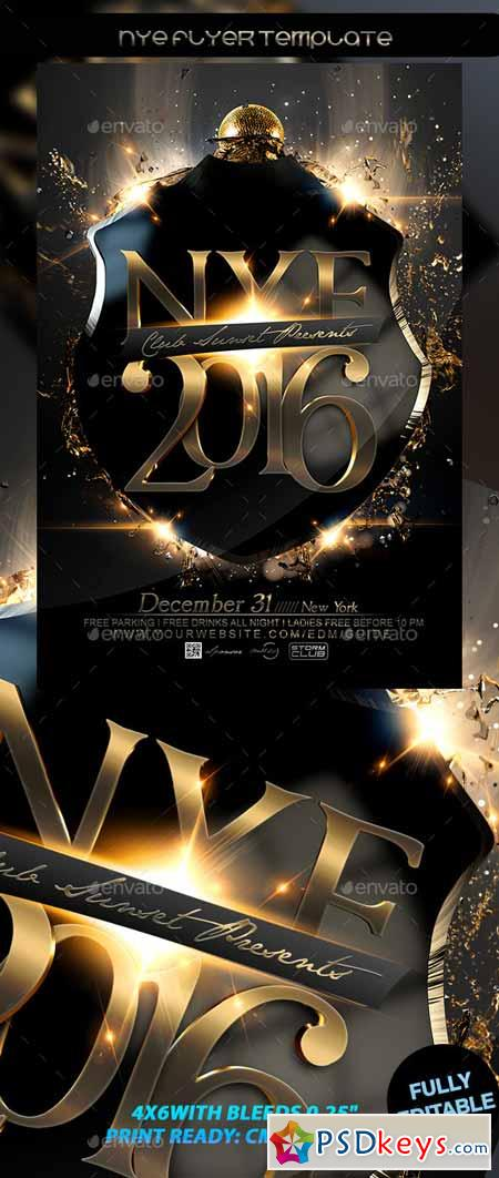 NYE Flyer Template 12721066