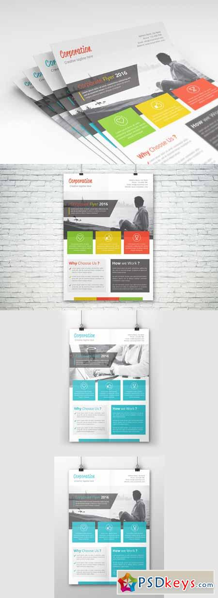 Corporate Flyer Template 624289