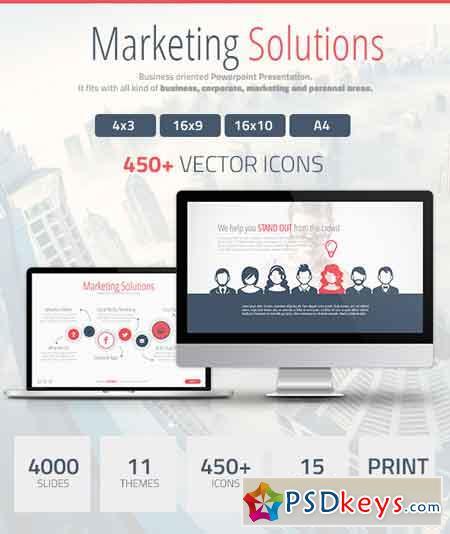 Marketing Solutions Powerpoint Presentation 15675280