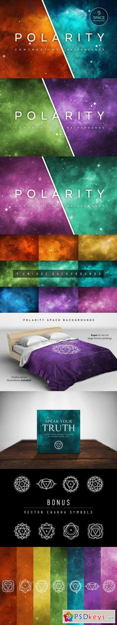 Polarity Space Backgrounds 606857
