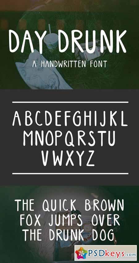 Day Drunk Font