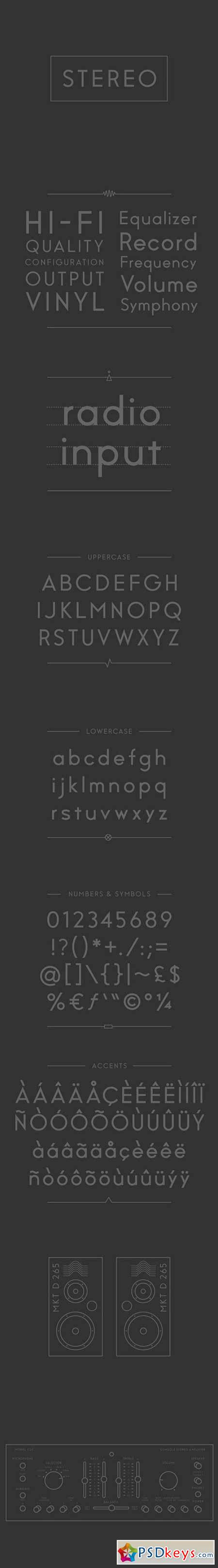 Stereo Font