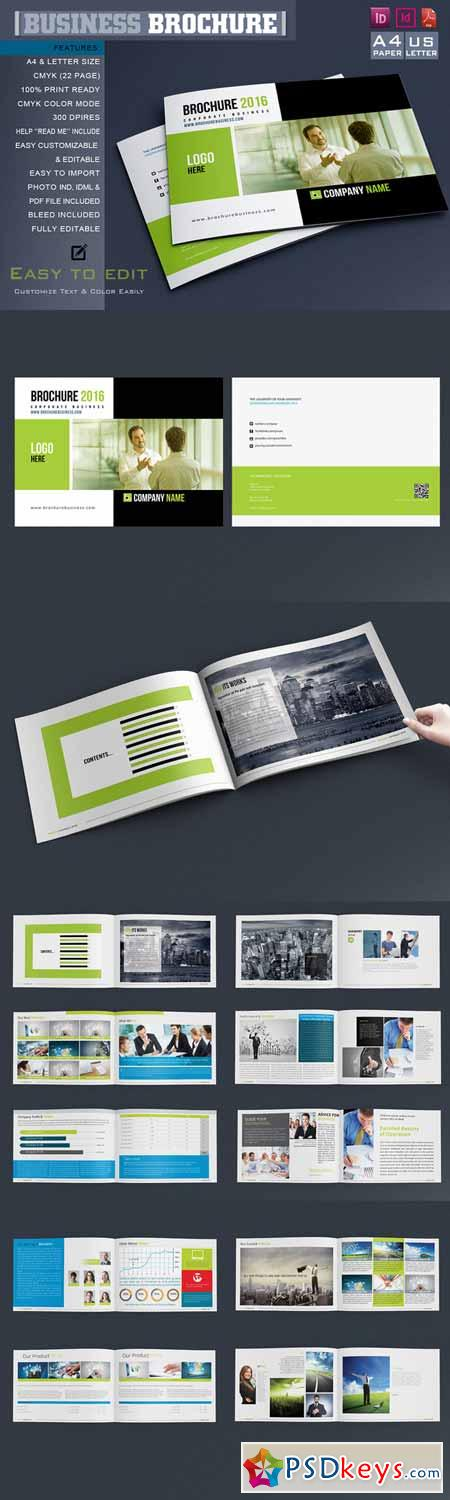 Corporate Brochure Catalog 628196