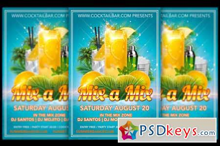 Mix A Mix Cocktail Flyer 578652