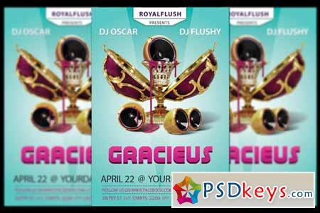 Gracieus Party Flyer 619471