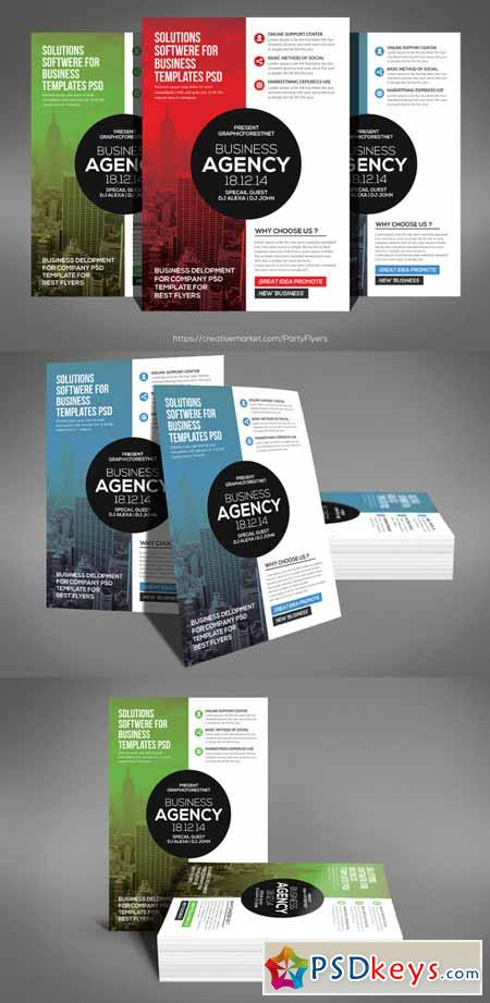 Modern Business Agency Flyer 621577