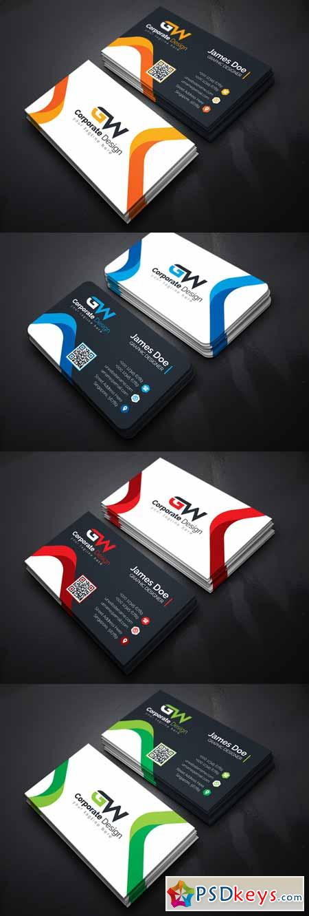 Smart Corporate Business Card 627838