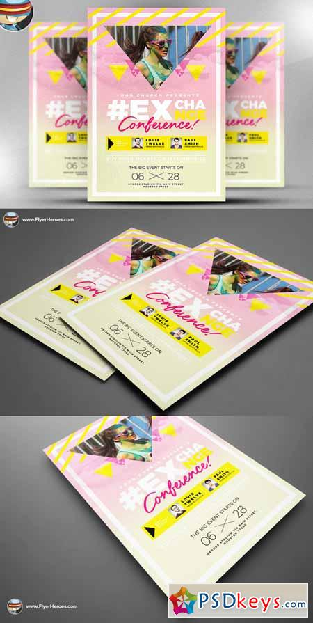 Youth Festival Flyer Template 614951