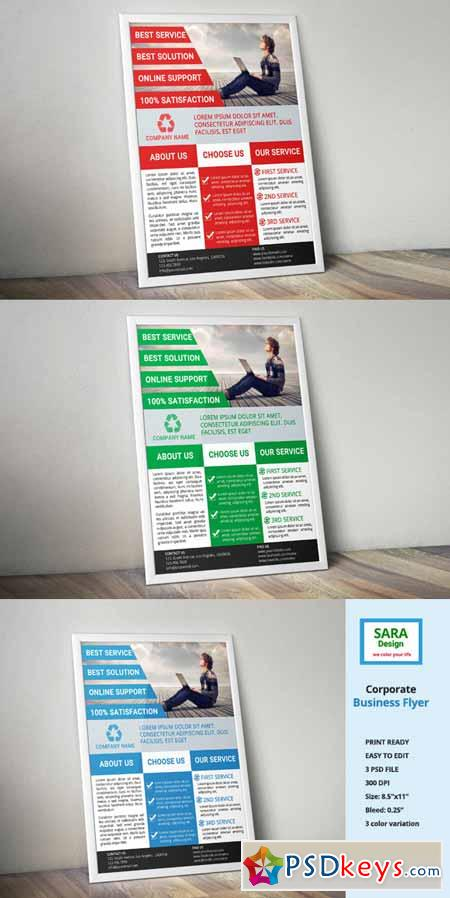Corporate Business Flyer 623869