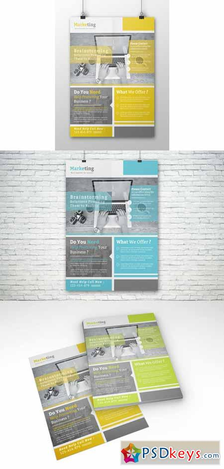 Corporate Flyer Template New 624324