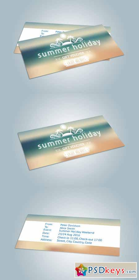 Holiday Gift Voucher 611296