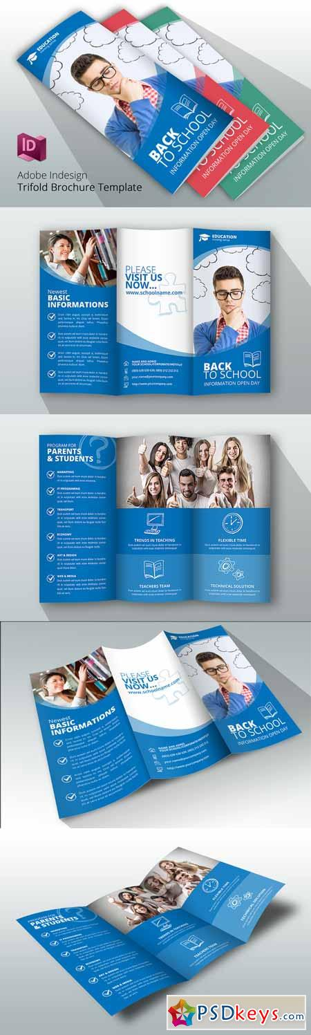 Trifold Back to School Brochure 611286