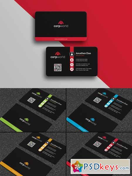 Corporate Business Card #25 624503