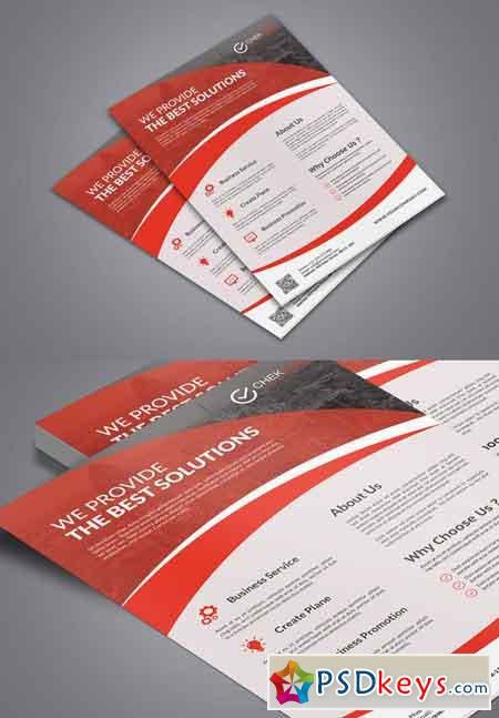 Corporate Business Flyer 626140
