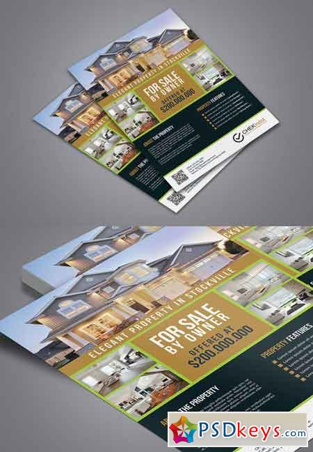Real Estate Flyer 626144 » Free Download Photoshop Vector Stock ...