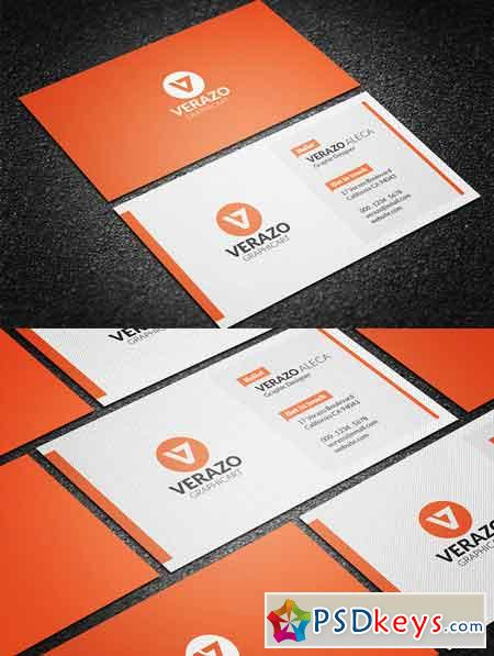 Clean modern business card template 626394 free download for Modern business cards templates