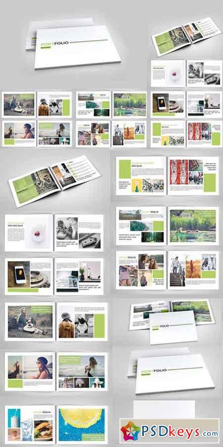 indesign portfolio brochure v127 285469 free download photoshop vector stock image via. Black Bedroom Furniture Sets. Home Design Ideas
