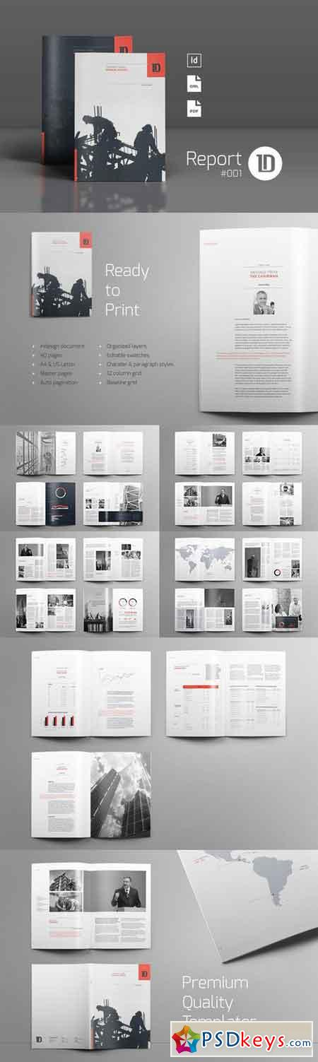 Annual Report Template 001 600318