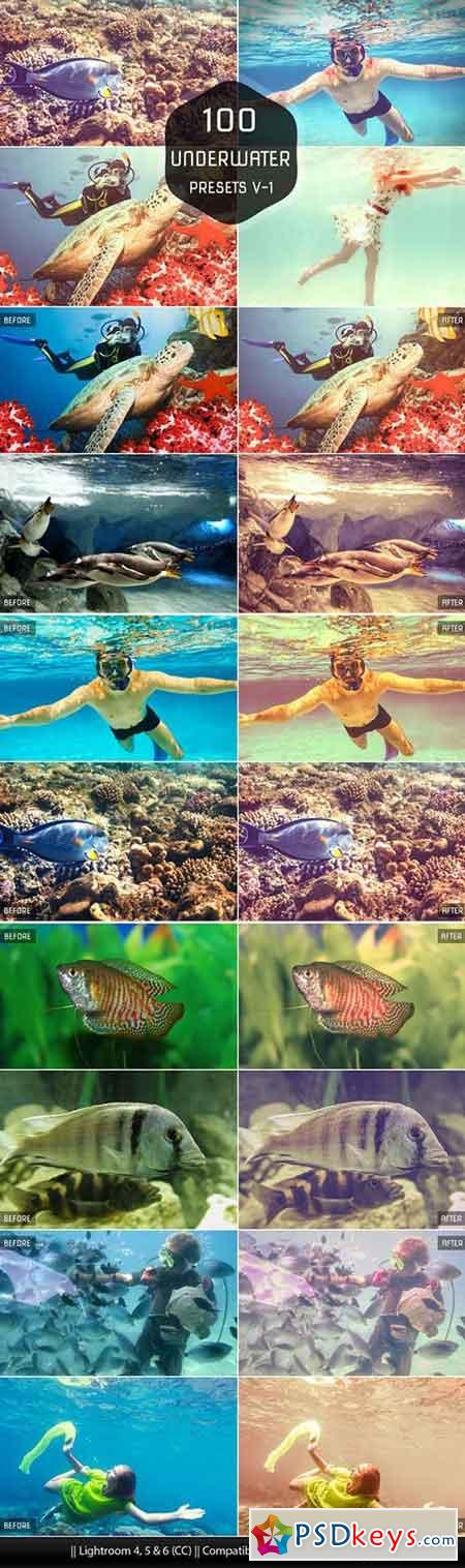 Underwater Lightroom Presets 106337