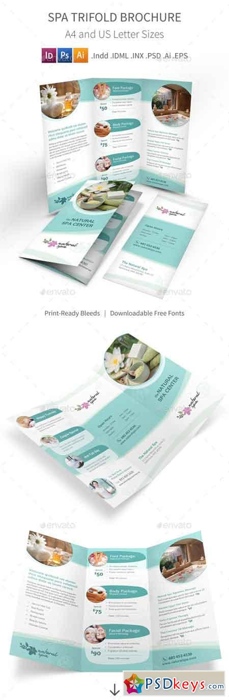 Spa Trifold Brochure 11438732