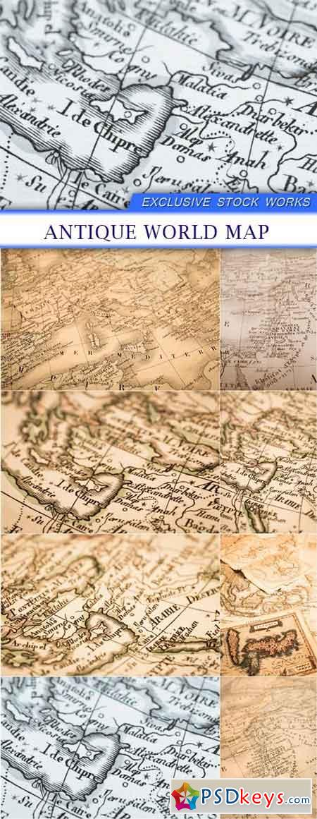 Map page 7 free download photoshop vector stock image via antique world map 8x jpeg gumiabroncs Choice Image