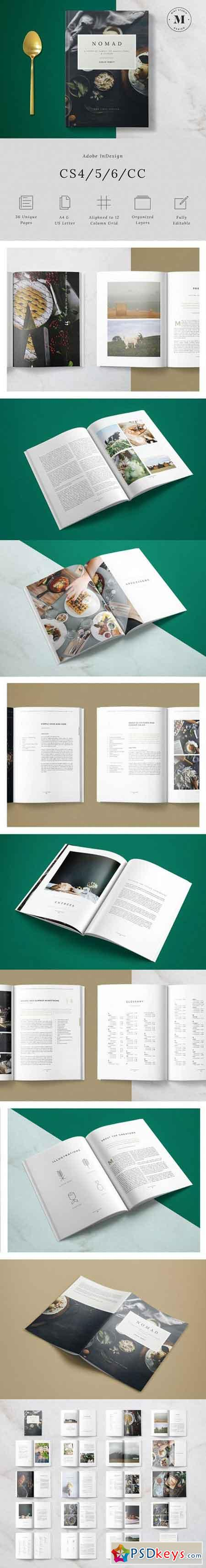 Nomad Cookbook 628135 » Free Download Photoshop Vector Stock image ...