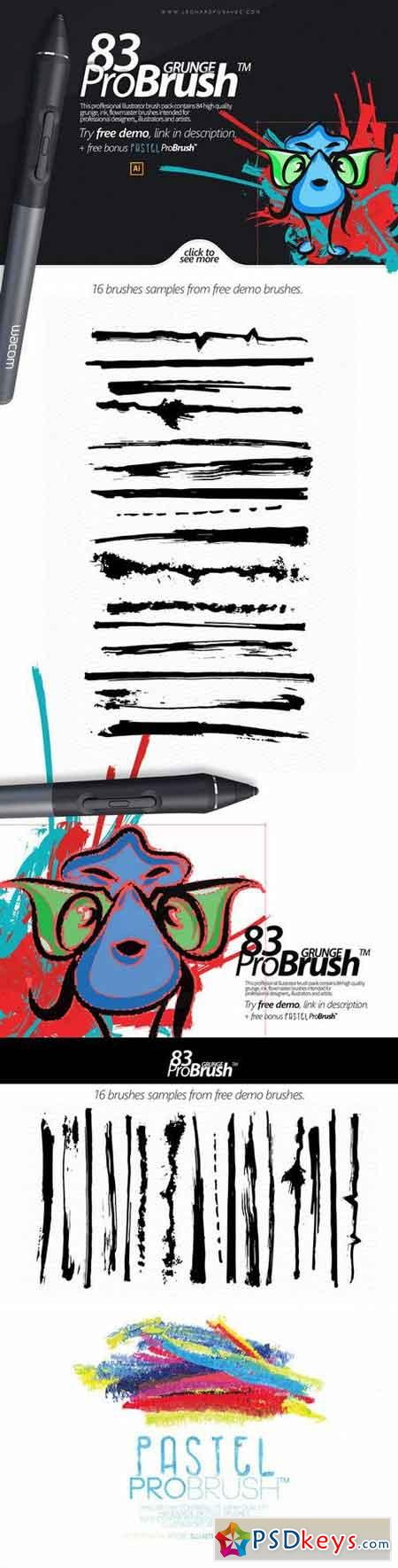 83 Grunge ProBrush™ + Free Demo 118481