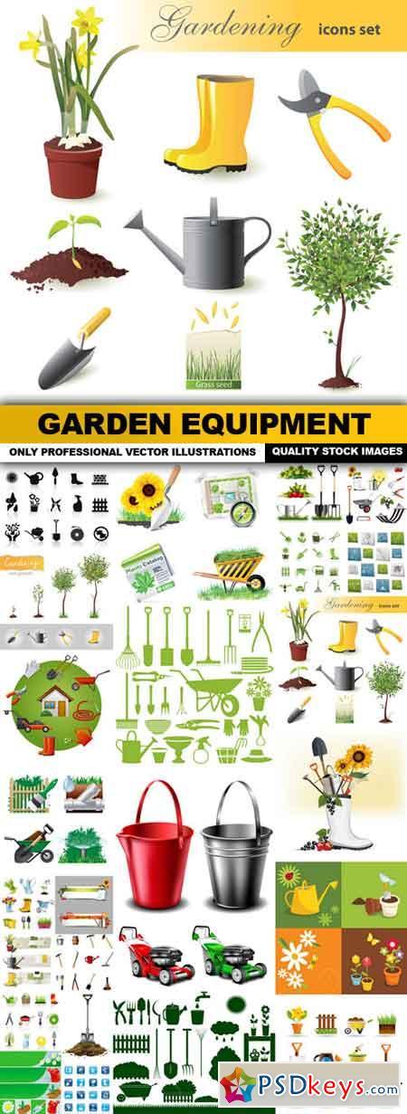 Garden Equipment - 25 Vector