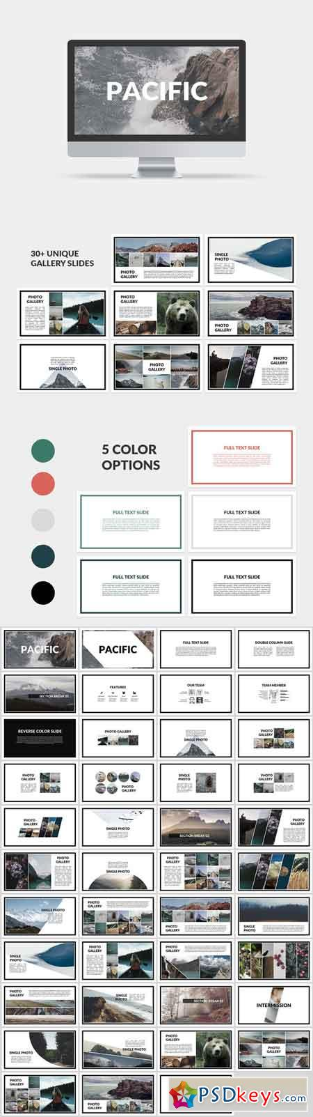 Pacific PowerPoint Template 631199