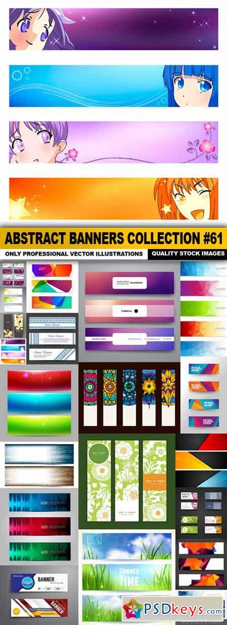 Abstract Banners Collection #61 - 20 Vectors