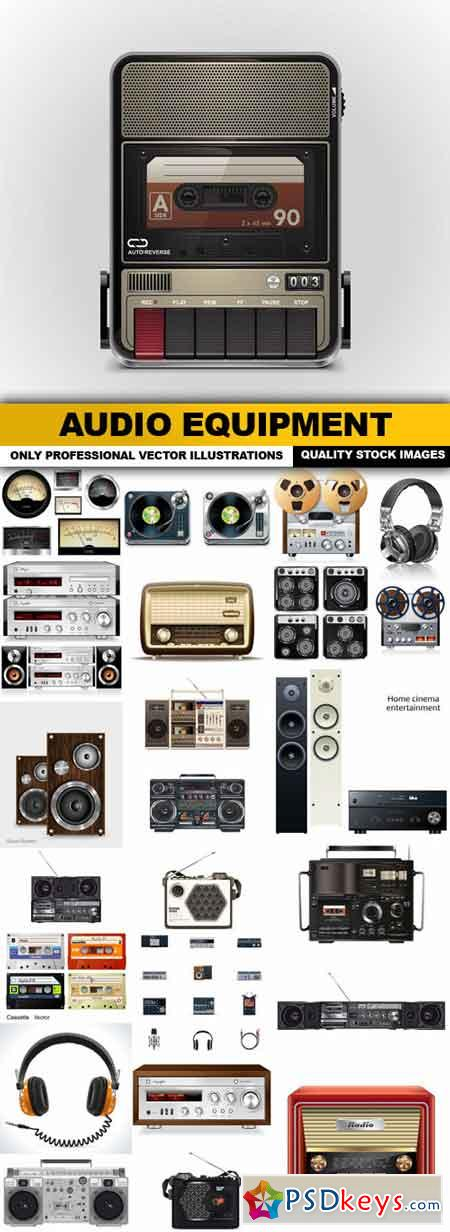 Audio Equipment - 25 Vector