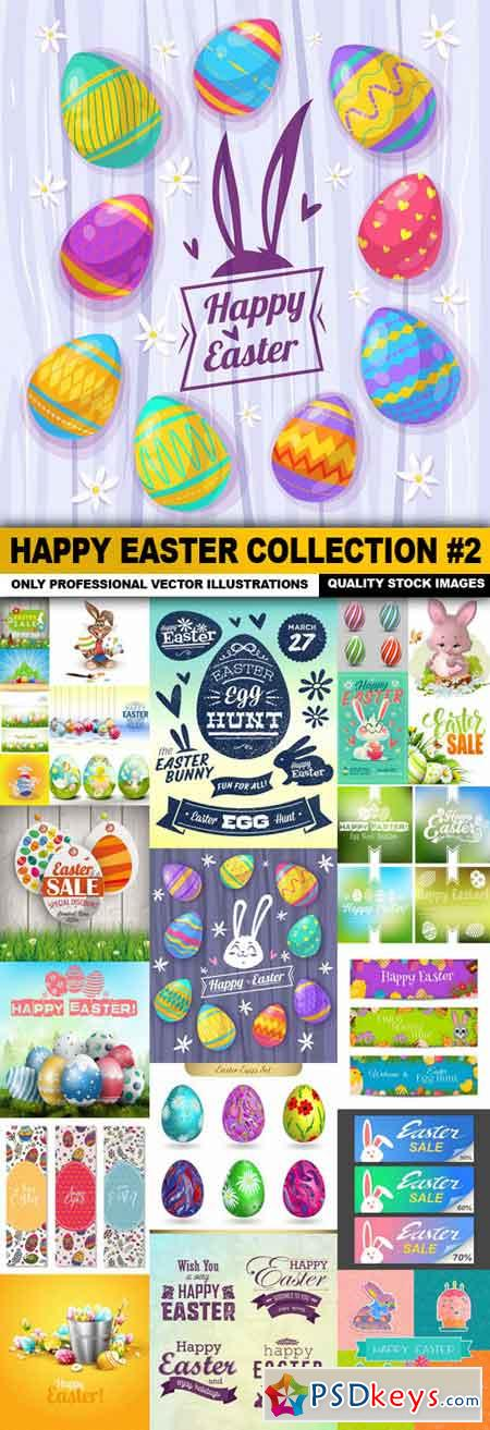 Happy Easter Collection #2 - 25 Vector