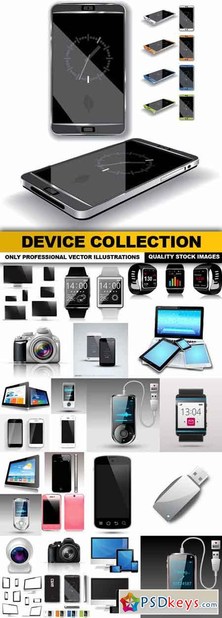 Device Collection - 25 Vector