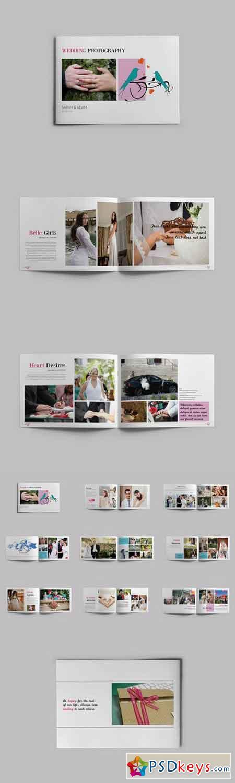 Wedding Album Template 353317 » Free Download Photoshop Vector Stock ...