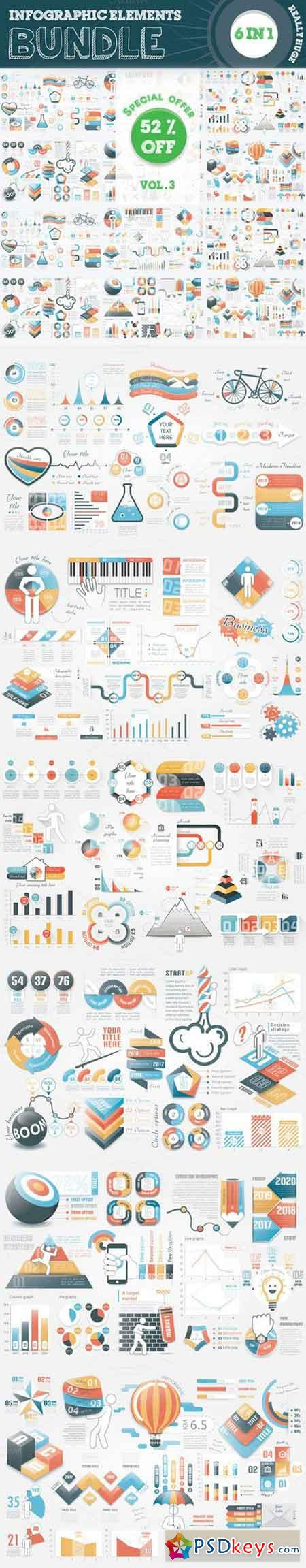 Infographic Templates Bundle 650674